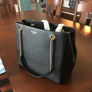 Briar Lane black new Kate spade tote.
